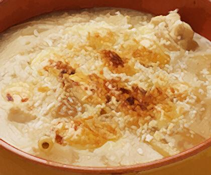 矢切ねぎのマヨ味噌グラタン
